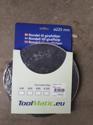 Toolmatic Klett-Schleifpapier K60 für Giraffe Flex Festool Rokomat
