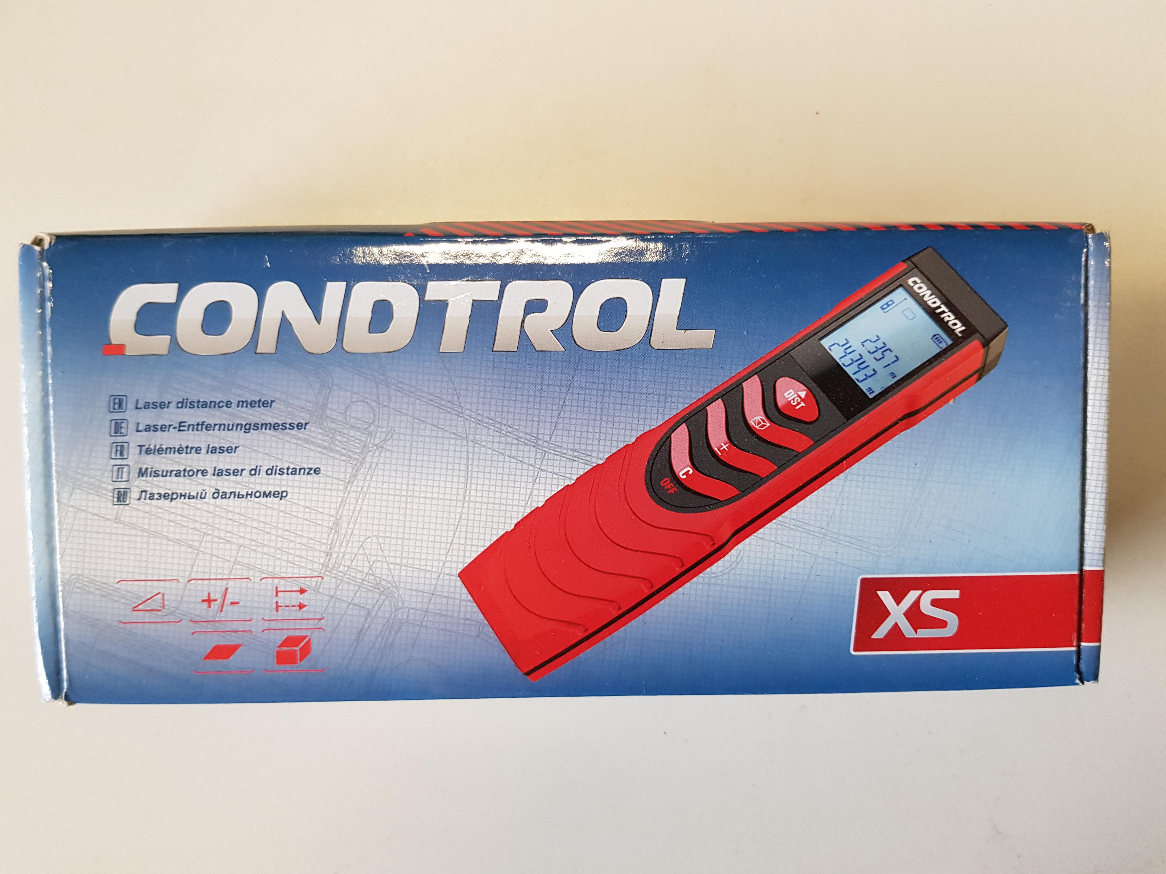 Condtrol xs laser entfernungsmesser industrie restposten kurz